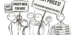 Angry Mob For Hire